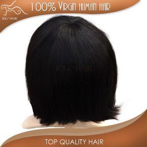 short straight wave hair european natural and durable grade 6A 100% cheap hair bundles Manufactures