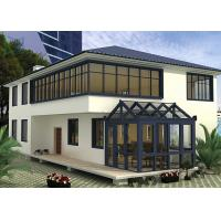 Quality Garden House Aluminium Large Glass Greenhouse Polycarbonate Double Glazing for sale
