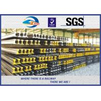 GB Standard P50KG GB50 Railway Steel Crane Rail According GB2585-2007 TUV Manufactures