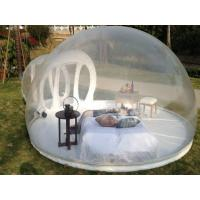 4m PVC Tarpaulin Inflatable Dome Tent Outdoor Exhibition / Product Promotion Manufactures