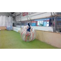 Quality Funny Clear  Inflatable Sports Games Soccer Ball For Advertising  Custom for sale