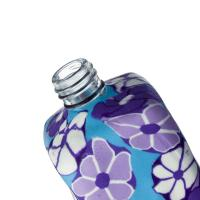 Gift 15ml Clay Perfume Bottles Screw Cap High Resoulation Printing