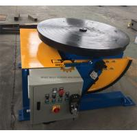 Manually Tube Welding Positioner Auto Stop 900mm Round Slot Table Manufactures