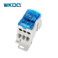 Junction Distribution Box UKK 160A Power Block Distributor With Transparent Cover Manufactures