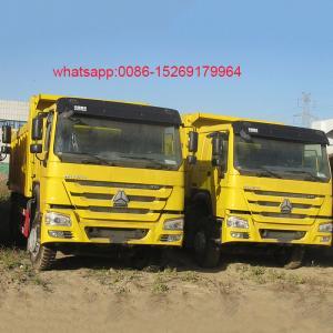 China SINOTRUCK HOWO 6x4 336hp 16 cubic meter 10 wheel dump truck on sale
