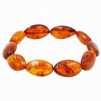 Baltic Amber Fashionable Bracelet, Customized Designs Welcomed  Manufactures