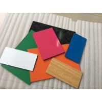 FEVE Paint ACP Aluminium Composite Panel Anti - Bacterial With Pearl Color Manufactures