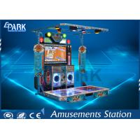 Quality Fashion Design Arcade Dance Machine Stereo System Supported Later Upgrade for sale