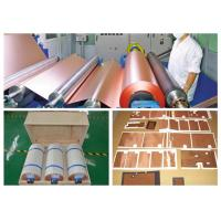 Matt Treated Red Thin Copper Foil Low Profile Good Folding Endurance Manufactures
