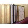 Black Gold Aluminum Slim Snap Frame Led Light Box For Trade Show Display Manufactures