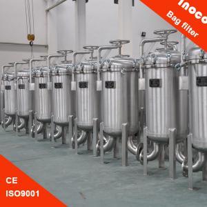 BOCIN Vertical Multi-bag Filter Housing For Liquid Filtration / Water Purifier Manufactures
