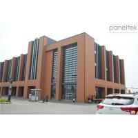 Wall Cladding Material Terracotta Cladding Facade Panels Long Last Color Manufactures
