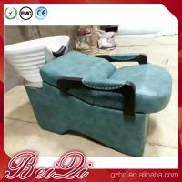Wholesale barber equipment salon suppliers shampoo station sink and chair Manufactures