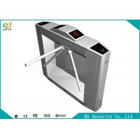 304 Stainless Steel Waist Height Turnstiles Heavy Duty Two Way  Black  Barrier Manufactures