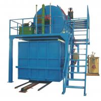 Automatic Recycled Foam Production Line With Steam Mix Crushed Foam With Glue Manufactures