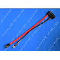 SATA22P To 7Pin +4Pin Power Cable/7+15pin Sata Cable Power cable Manufactures
