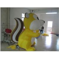 Cute Custom Inflatable Products Colorful Inflatable Squirrel For Adversiting Manufactures
