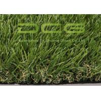 Apple Green Outdoor Artificial Grass 13000 Dtex High Ruggedness Without Sand Manufactures
