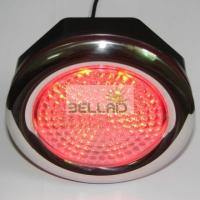 Quality Bulletproof PC plastic 12V RGB LED SPA Light / multi color led pool light for sale