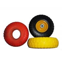 """Low Temperature Resistance 7.5x2"""" PU Foam Wheels For Wheelchair Manufactures"""
