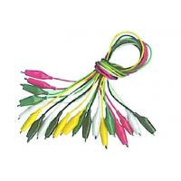 China Double Ended Alligator Clips Test Wire with 5 colors wires clips on sale