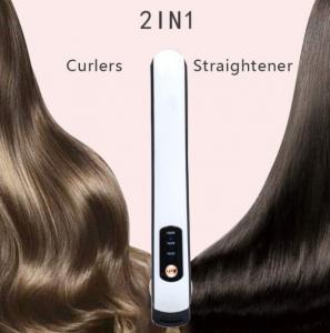 China Usb Hair Straightener Titanium Irons Machine Flat Iron Hair Straightener Portable Cordless Hair Straighteners on sale