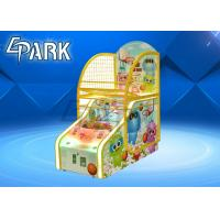 Cute Bear Design Arcade Basketball Game Machine For Game Center 1 To 2 Player Manufactures