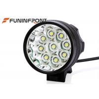 Quality 3 Light Gears 9T6 Rechargeable Front Bike Light , CREE LED Bicycle Headlight for sale