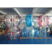 China Customized Double Inflatable Human Bubble Ball For Leisure Centre , Park on sale