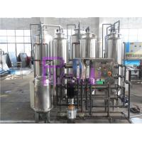 1000LPH Water Treatment System 4 Housings 5kg Pressure Resistance Manufactures