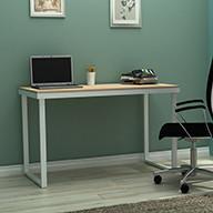 Light Wood Grain 120cm Width 15KG Bamboo Writing Desk Manufactures