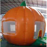 Quality Orange Inflatable Party Tent For Leisure , House Shade Inflatable Wedding Tent for sale