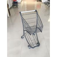 40 Liter Steel Tube Grocery Store Shopping Cart For Airport Supermarket Manufactures