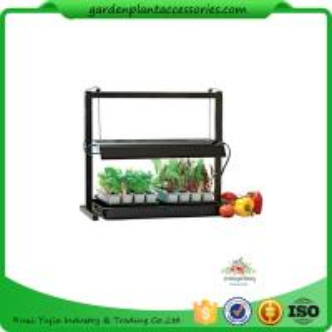 Countertop Grow Light Garden Starter Kit / Plant Starter Kit With Seed Starting Trays Manufactures