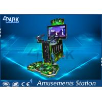China New Arrival 42''inch Aliens shooting arcade simulator game machine on sale