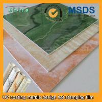 Realistic Wood Grain Laminate Film , Heat Transfer Printing Film For Plastic Products Manufactures
