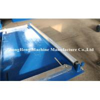 Quality Galvanized Corrugated Roofing Panel / Roof Sheet Making Machine with unit PLC Control for sale