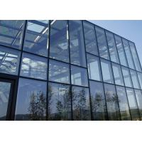 Quality Commercial Building Aluminium Curtain Wall Visible Full Glass Curtain Wall for sale