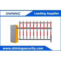 Automatic Boom Barrier Gate , Parking Boom Gate 3-6 Seconds High Speed Manufactures
