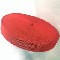 Outdoor Furniture Cover Type Elastic Upholstery Webbing in red color Manufactures