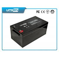 200Ah VRLA Solar AGM  Battery Sealed Lead Acid Battery with CE & UL Certificate Manufactures