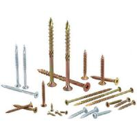 Heat Treatment Yellow White Zinc Chipboard Screws Partical Board Wood Screws For MDF Manufactures