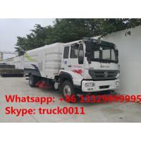 best quality SINO TRUK Steyr road sweeper truck for sale,2017s  new arrival SINO TRUK road cleaning vehicle for sale Manufactures