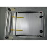 Aluminum Roller Shutter Door Fire Truck Rubber Strip 15 Years Durable Time Built In Bearing Manufactures