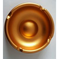 Custom Golden Anodized CNC Machining Parts Aluminum Ashtray Commodity Manufactures