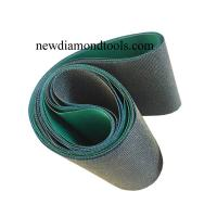 China CBN abrasive sanding belts for Fe-based alloy,titanium alloy,stainless steel,high temperature alloy on sale