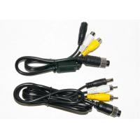 Colorful 4 Pin RCA BNC Cable , BNC Video Cable For Marine Equipment Manufactures