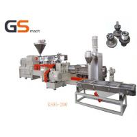 Two stage extrusion filler masterbatch machine single & twin screw Manufactures