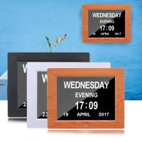 American Lifetime Day Clock - Extra Large Impaired Vision Digital Clock & 5 Alarm Options Digital Day Clock Manufactures