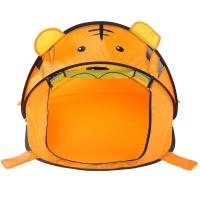 Indoor / Outdoor Childrens Play Tent Tiger Folding Pop Up Playhouse Cute Design Manufactures
